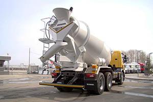 Перевозка бетона автобетоносмесителем общекислотная коррозия бетона