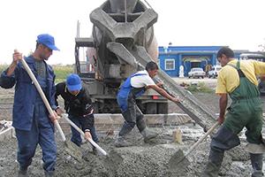 Бетон покров как залить пол в гараже своими руками цементным раствором